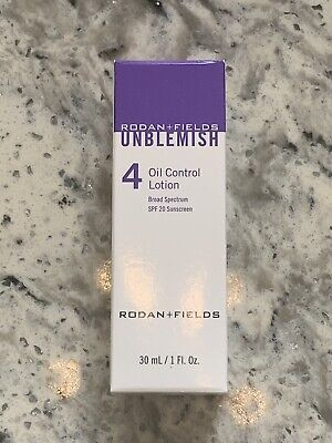 Rodan And Fields Unblemish Oil Control Lotion New