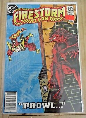 The Fury of Firestorm #10 Canadian newsstand price variant 1984 FN