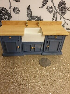 Dolls house furniture. Kitchen sink unit