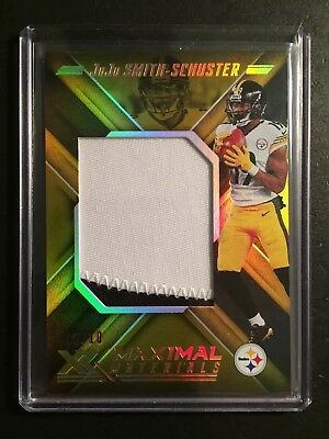 2018 Panini XR Red #25 JuJu Smith-Schuster Pittsburgh Steelers Football Card Verzamelkaarten, ruilkaarten Verzamelkaarten: sport