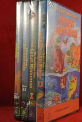 NEW - The Land Before Time 9 10 11 12 - Region 4 - DVD