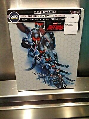 Marvel Ant-Man & The Wasp 4K UHD Blu-Ray Digital Copy Best Buy Exclusive New