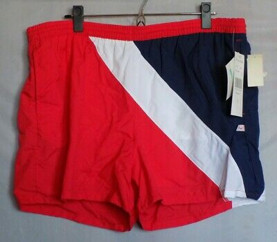 Vintage New With Tags Mens Jantzen sz XL Swim Trunks Red Poppy