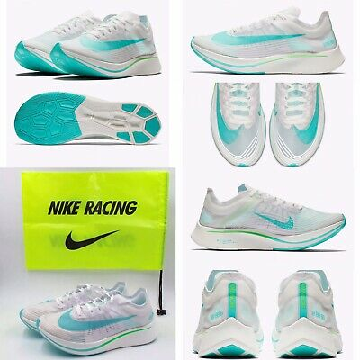 7015ea07f4b21 NIKE ZOOM FLY SP AJ9282-103 White Rage Green Size 10🌟Includes Bag ...