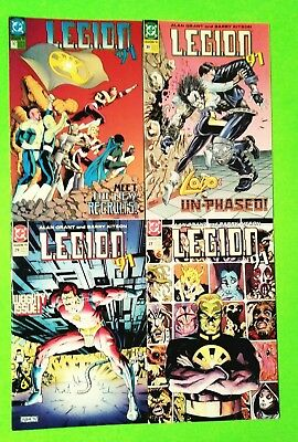 Legion '91 Lot Of 4 Issues #27,29,30,32, Lobo! Dc 1991, Nm 9.4, Comb Shipping!