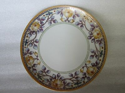 Beautiful Antique Chinese Export Porcelain Hand Painted Plate PERFECT