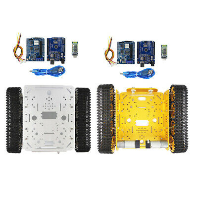 T200 DIY Smart Robot Tank Chassis Tracked Car with Crawler Kit for Arduino