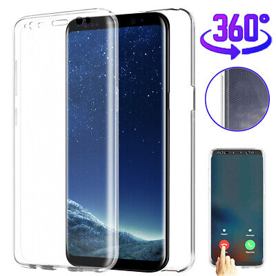 360° Front Rear Full Protective TPU Case Cover for Samsung Galaxy S10 S8 S9 Plus