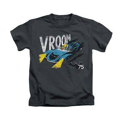 BATMAN VROOM Licensed Toddler & Kids Boy Graphic Tee Shirt 2T 3T 4T 4 5-6 7