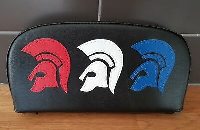 Triple Helmet Scooter Back Rest Cover (Purse Style)