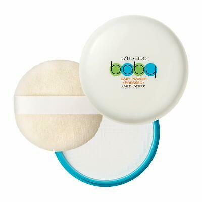 Shiseido Medicated Baby Powder 50g with Soft Puff Japan F/S s8277