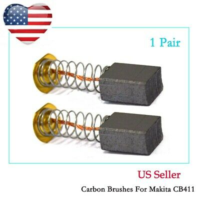 "Motor Carbon Brushes for Makita RT0701C 1-1/4 HP Compact Router 3703 1/4"" Lamina"