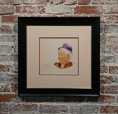 Attributed to Norman Rockwell - Granny Portrait Study -Watercolor