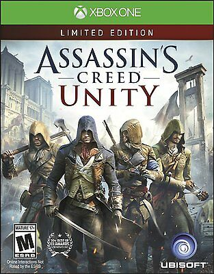 NEW Assassin's Creed: Unity (Microsoft Xbox One, 2014)