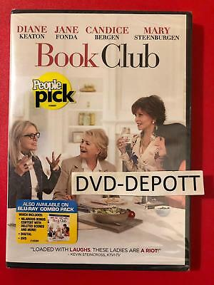 BOOK CLUB DVD 2018 **AUTHENTIC DVD READ** Brand New FAST Free Shipping