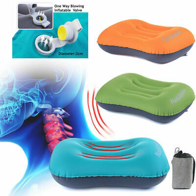 Ultralight Air Pillow Cushion Inflatable Soft Outdoor for Camping Hiking Travel