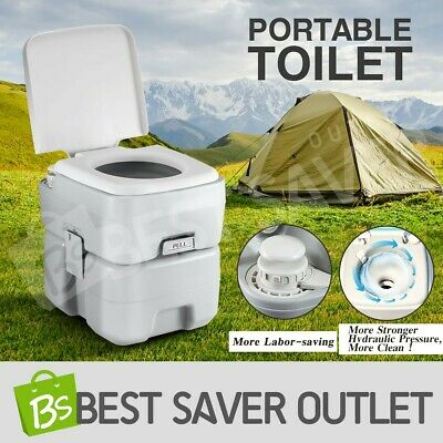 20L Water Tank Portable Toilet New Camping Potty Caravan Outdoor Travel Boating