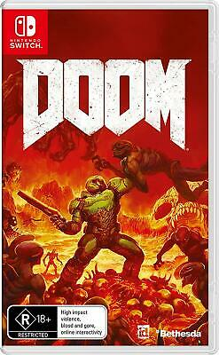 Doom - Shooter For Nintendo Switch NS NEW SEALED FAST FREE SHIPPING