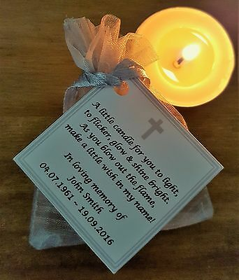 Funeral Candle, Remembrance Memorial Candles - Wake, Bereavement Light In Memory
