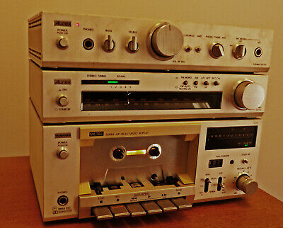 Classic 'AUREX' by TOSHIBA 3 Separate Components M10 Microsystem