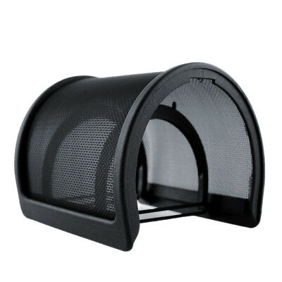 Double Layer Recording Microphone Mic Windscreen Pop Filter Mask Shield Black