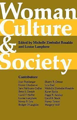 Woman, Culture, and Society, ,0804708517, Book, Good