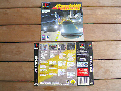Speedster (1997) Playstation 1 Cover Originale, No Disco