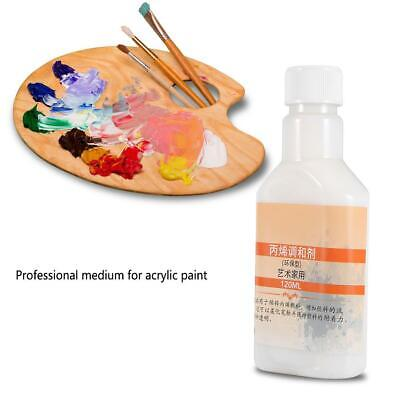 Artist Acrylic Pouring Medium Fluid Effect 120ml For Professionals Acrylic Paint