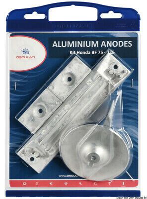 OSCULATI aluminium anode kit for honda outboards 75/225 hp