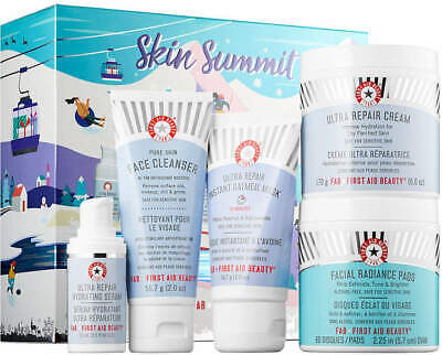 First Aid Beauty Skin Summit Set Exclusive Worth £90 5 Pieces #5866 DAMAGED BOX