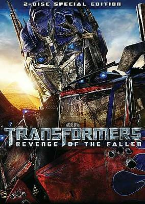 Transformers Revenge of the Fallen DVD 2-Disc  NEW, Special Edition W/ SLIPCOVER