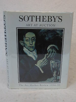 SOTHEBY'S ART AT AUCTION  THE ART MARKET REVIEW 1994-1995  Conran Octopus HC/DJ