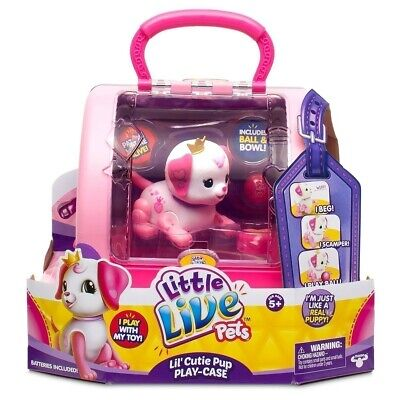 Little Live Pets Lil' Precious Pups Carry Case  - New -Free Delivery