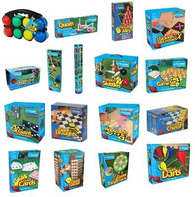 New Traditional Giant Garden Games Outdoor Summer Beach Fun Family Sports BBQ
