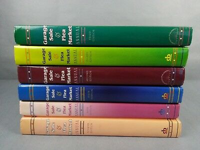 6 Garage Sale & Flea Market Books 2nd-6th & 8th Ed Hardcover Books