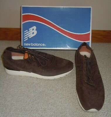 9c38fdd5285b1 New Balance Deconstructed 696 Brown Suede MRL696DA Men's Shoes 11- worn once