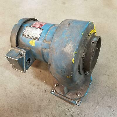 US Motor, F-A676-00-916 Hp;1/3, Rpm;3530, Frame:56C Motor/Blower. - USED