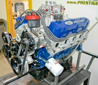 427 FORD STROKER Crate Engine 351W 575HP Mustang Cobra