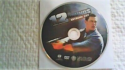 12 Rounds: Extreme Cut (DVD, 2009, Rated/Unrated)