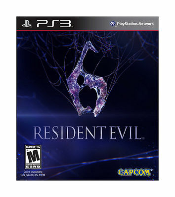 Resident Evil 6 (Sony PlayStation 3, 2012)   COMPLETE  CAPCOM  FAST SHIPPING PS3