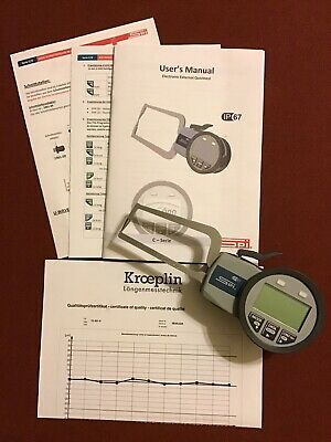 """SPI Electronic Oditest Caliper Gage for Pipes and Tubes 15-505-10 - 0.78"""""""