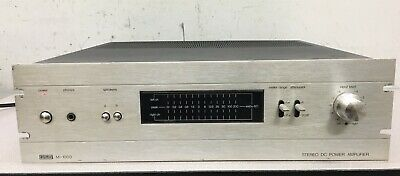 Eumig M-1000 Stereo Power Amplifier M1000
