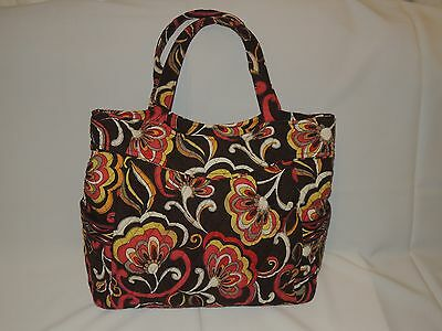 Vera Bradley Baby Diaper Bottle Bag Puccini Floral