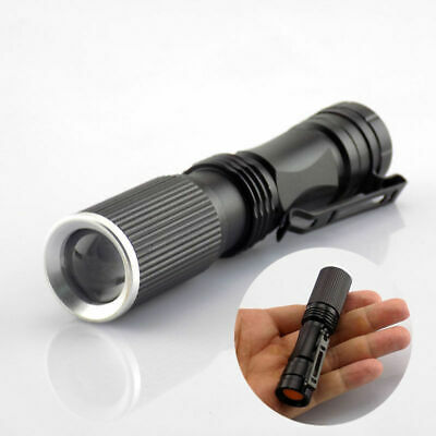 Q5 Small Led Flashlight powerful Mini Linternas Torch AA Battery Pocket Penlight