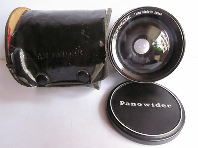 Panowider Super Wide Angle Auxiliary Lens 52mm Adapter ring Nikon Canon Cameras