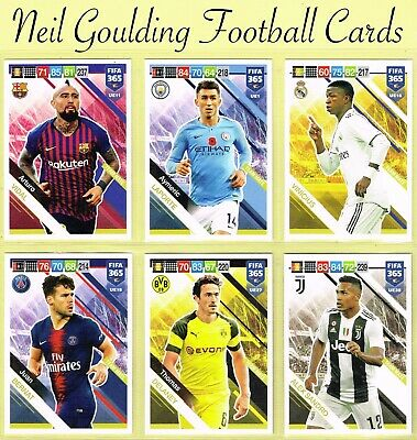 Panini FIFA 365 2019 ☆☆☆ UPDATE ☆☆☆ Football Base Cards #UE1 to #UE64