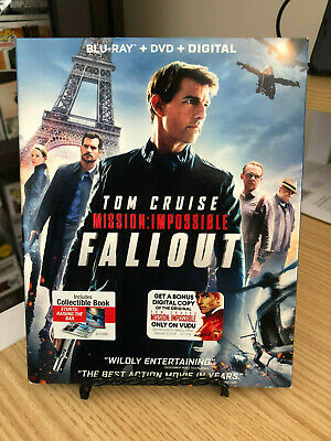 Mission Impossible: Fallout (Blu-Ray + DVD + Digital) BRAND NEW w/Slipcover