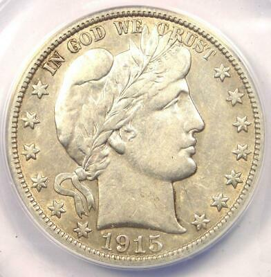 1915-S Barber Half Dollar 50C - ANACS XF45 - Rare Date - Certified Coin!