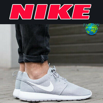 best cheap 9b943 a2ea5 Nike Men s Size 10.5 Roshe One Running Sneakers Wolf Grey 511881-023 NEW