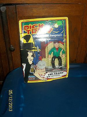 1990 Playmate Toys Disney Dick Tracy Coppers & Gangsters The Tramp Action Figure